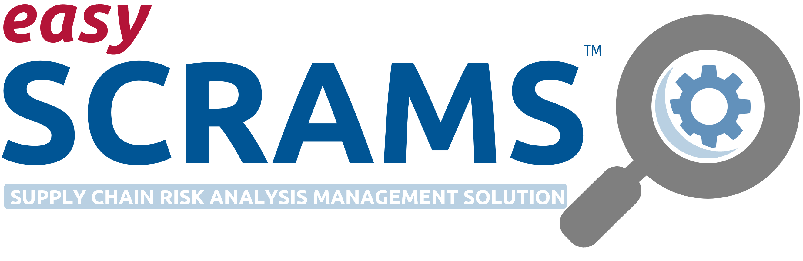 easy-SCRAMS login page - Supply Chain Risk Analysis Management System