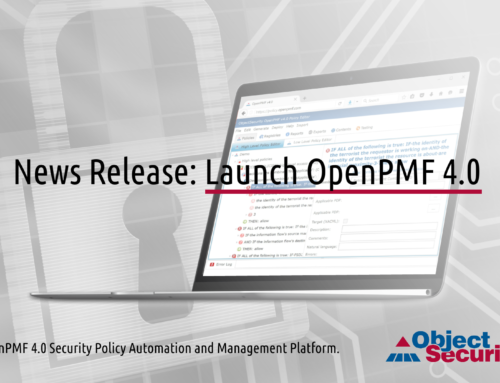 Launch OpenPMF 4.0 Security Policy Automation and Management Platform.