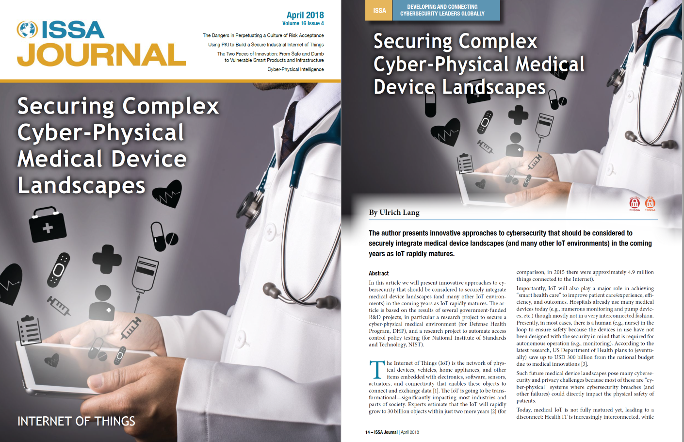 Securing complex cyber-physical medical device landscapes