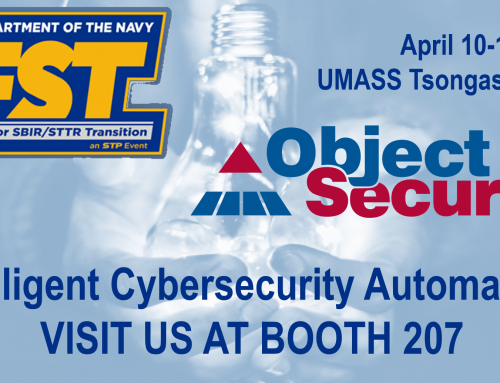 ObjectSecurity at Navy FST Expo