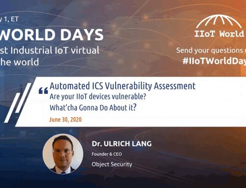 Automated ICS Vulnerability Assessment